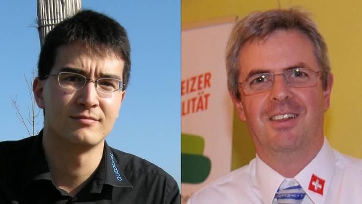 Richard Aschberger und Heinz Müller