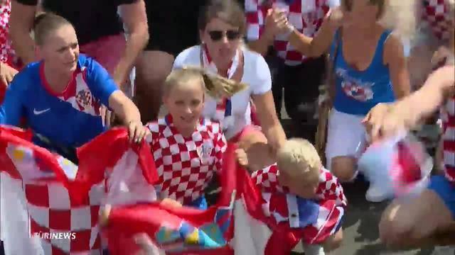 Die Kroaten bereiten sich auf das WM-Finale vor