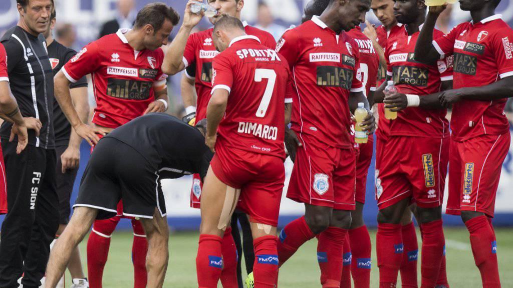 Der FC Sion weicht zu seinem Europa-League-Auftakt für das Heimspiel nach Genf aus