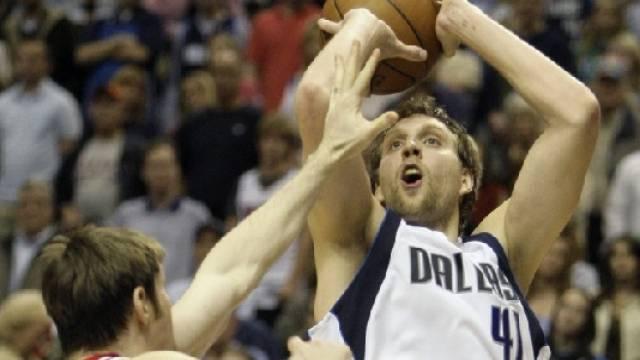 Dirk Nowitzki (Dallas) war von Chicago nicht zu stoppen