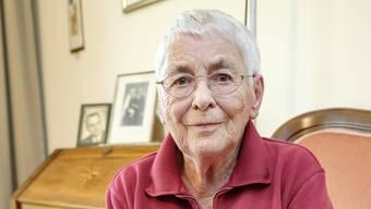 Nachdem Dorli Biedert jahrelang Menschen pflegte, ist sie jetzt selber im Altersheim.