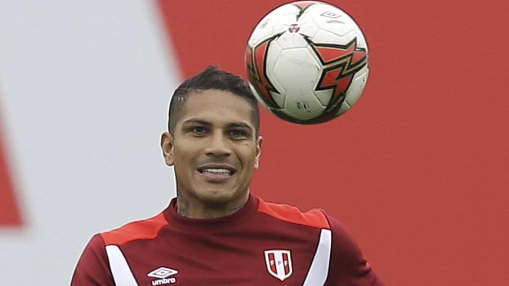 Perus Paolo Guerrero verpasst wegen eines positiven Dopingtests die Playoffspiele gegen Neuseeland um die WM-Qualifikation.
