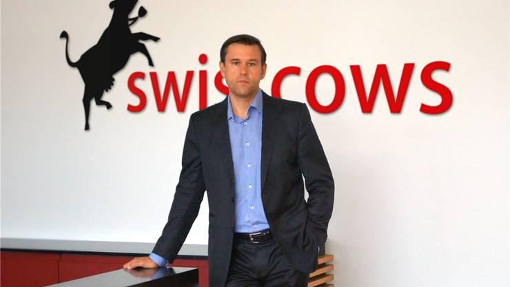 «Wir sehen uns global»: Hulbee-CEO Andreas Wiebe.HO