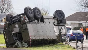 Duro Kanton Schwyz Unfall Militär Verletzte