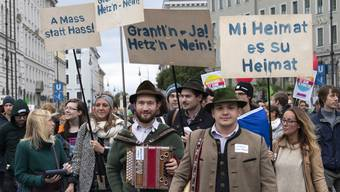 Bayern Parlamentswahlen Proteste (1)