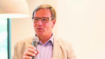 Heinz Lüscher, Gemeindeammann von Unterentfelden.