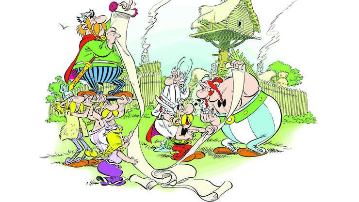 «Der Papyurs des Cäsar» ist für Jean-Yves Ferri und Didier Conrad der zweite Streich nach «Asterix bei den Pikten».