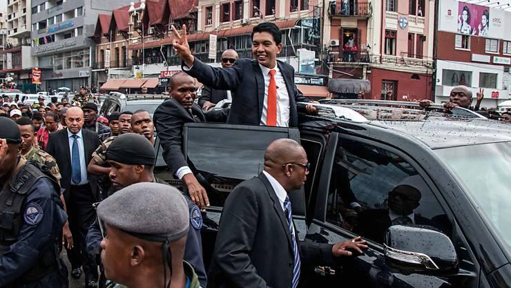 Das Lager von Madagaskars neuem Präsidenten Andry Rajoelina konnte auch die Parlamentswahl für sich entscheiden. (Archivbild)
