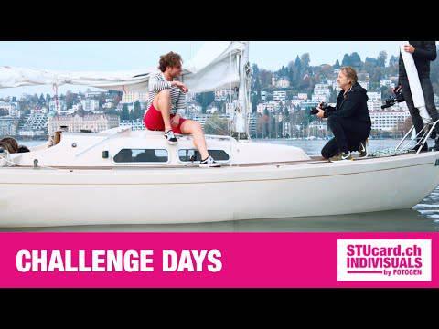 STU-Card-Contest: Bei den Challenge-Days mussten die Finalisten ihr Können als Model beweisen