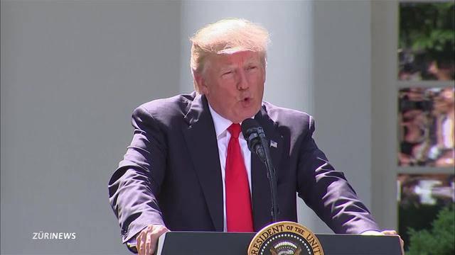 US-Klimaausstieg: Leuthard bedauert's, SVP freut's