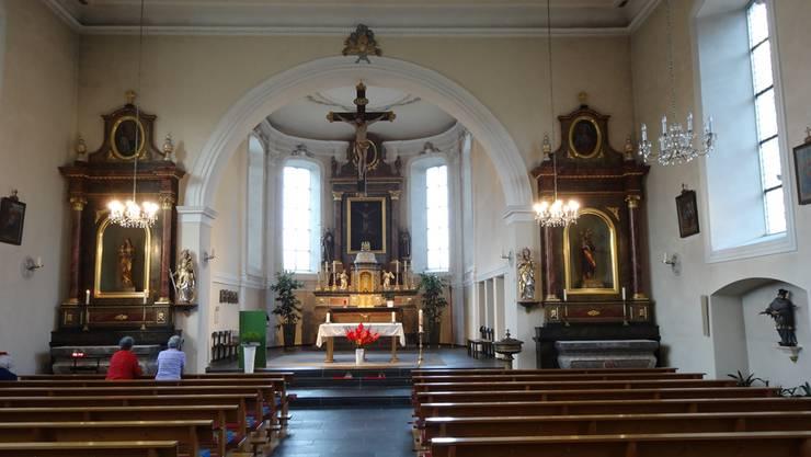 Die Sanierung der Kirche Wölflinswil wird noch aufgeschoben, zuerst werden noch Abklärungen zur Stabilität der Decke getroffen.