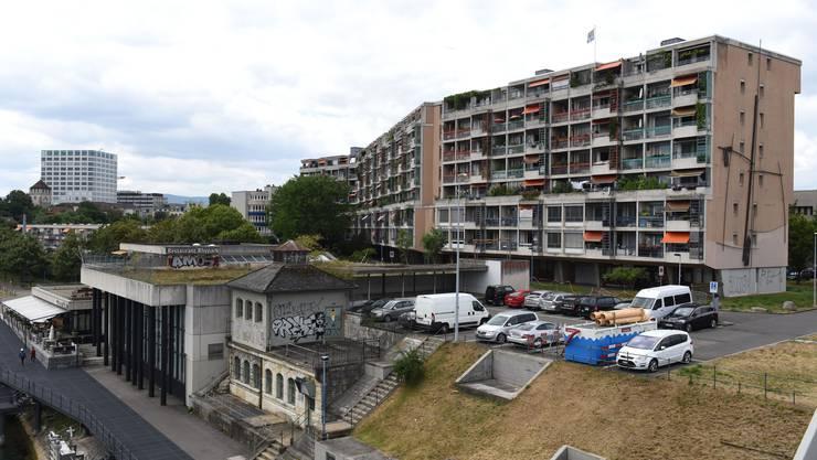 Nutzt den Raum nicht genügend gut aus, wenn man Christ und Gantenbein glaubt: Die Überbauung am St. Johanns-Parkweg.