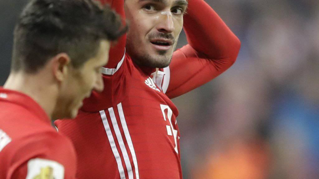 Mats Hummels steht Bayern München am Mittwoch im Viertelfinal-Hinspiel der Champions League gegen Real Madrid nicht zur Verfügung