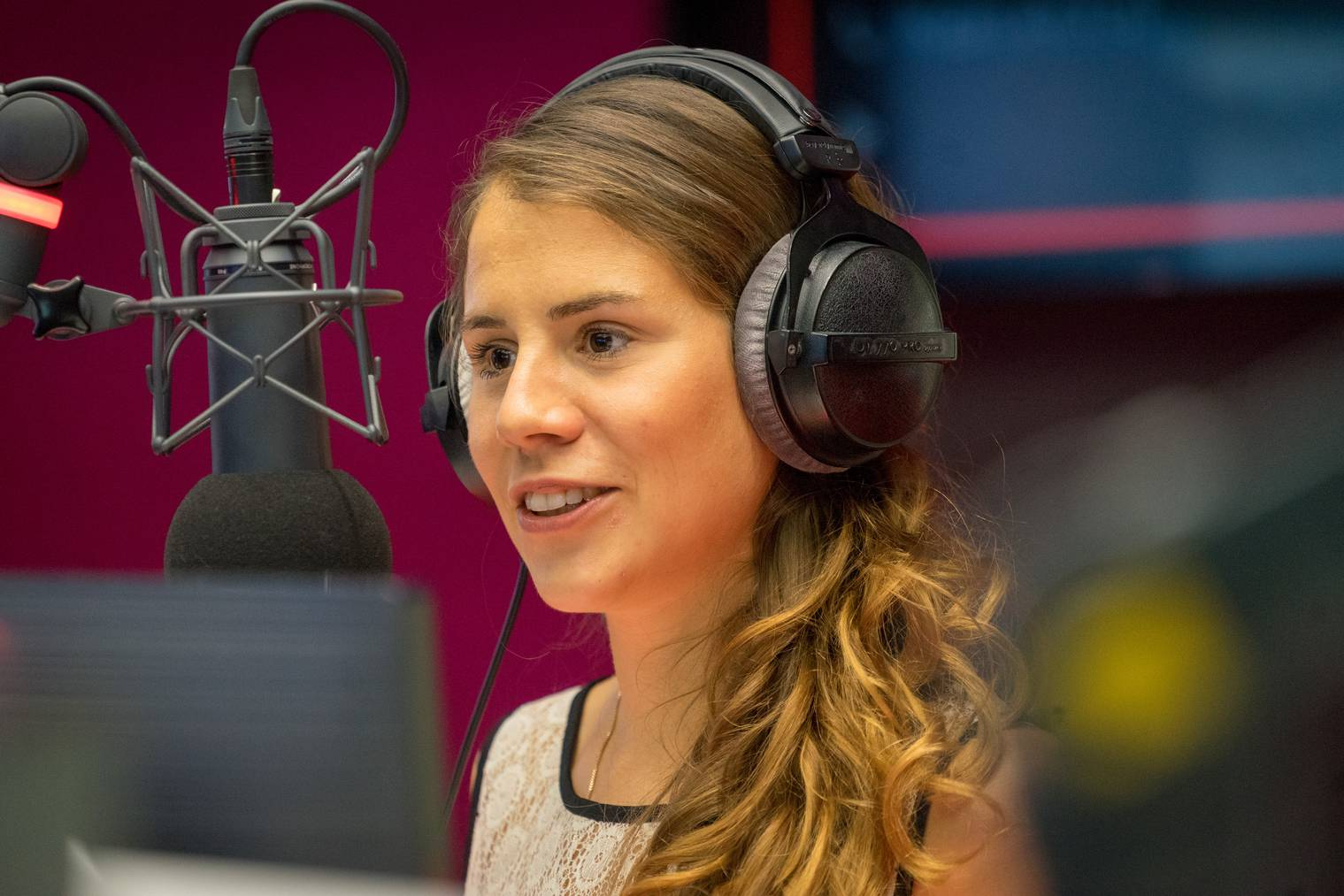 Eliane bei Radio Pilatus