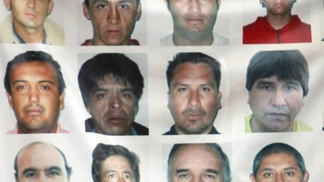 Einige der geretteten Bergleute (Archiv)