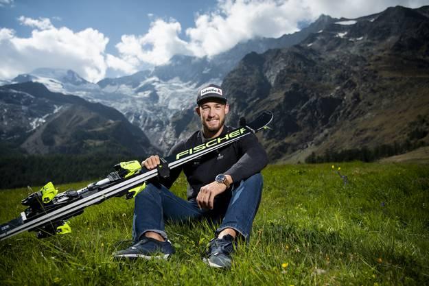 Luca Aerni hat bei Fischer neue Zuversicht und dank Daniel Yule und Tanguy Nef zwei starke Mitstreiter gefunden.