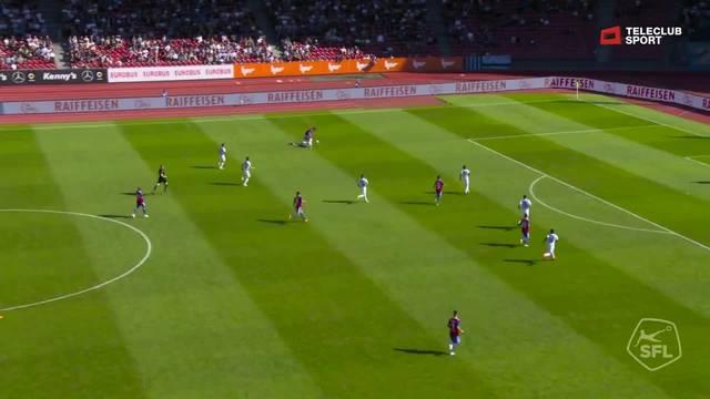 Super League, 2018/19, 5. Runde, FC Zürich – FC Basel, 0:1 Samuele Campo