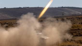 Das syrische Militär hat in der Nacht auf Mittwoch von Israel abgefeuerte Raketen über der Hauptstadt Damaskus abgefangen. (Symbolbild)