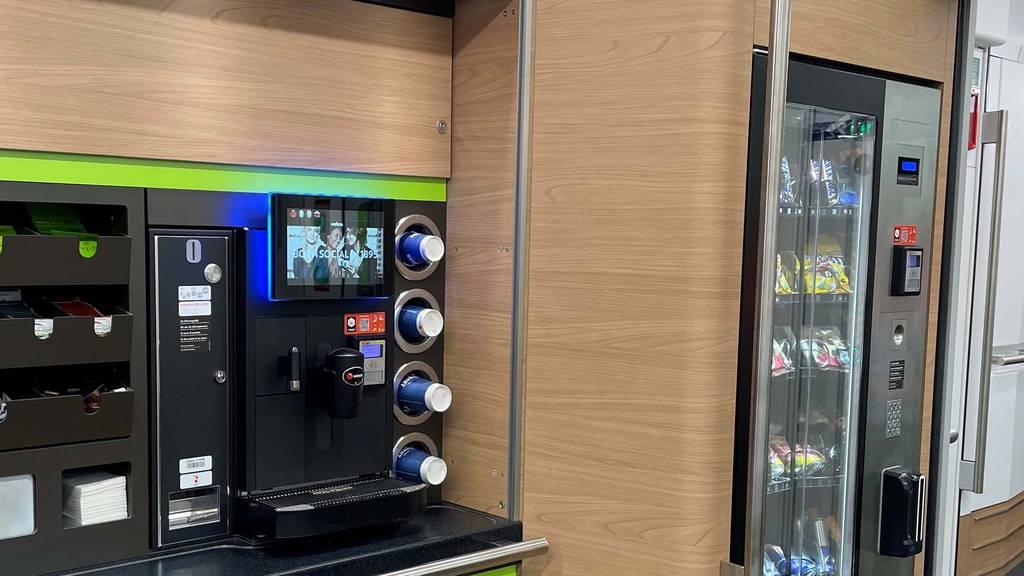 Kritik an BLS für Alkohol aus dem Zug-Automaten