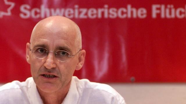 Beat Meiner von der Flüchtlingshilfe Schweiz (Archiv)