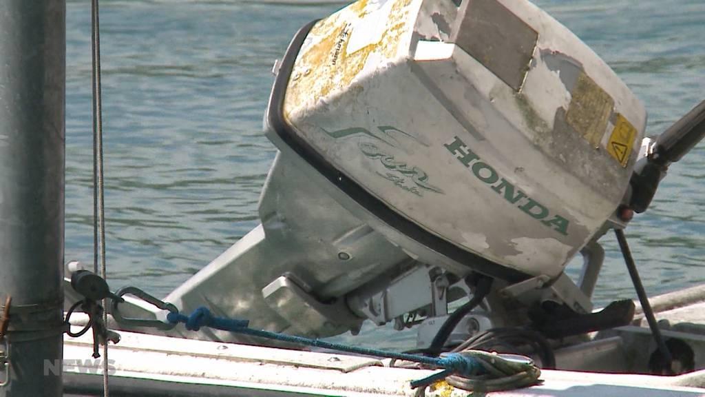Dieb gefasst: Bootsmotoren im Wert von mehreren zehntausend Franken