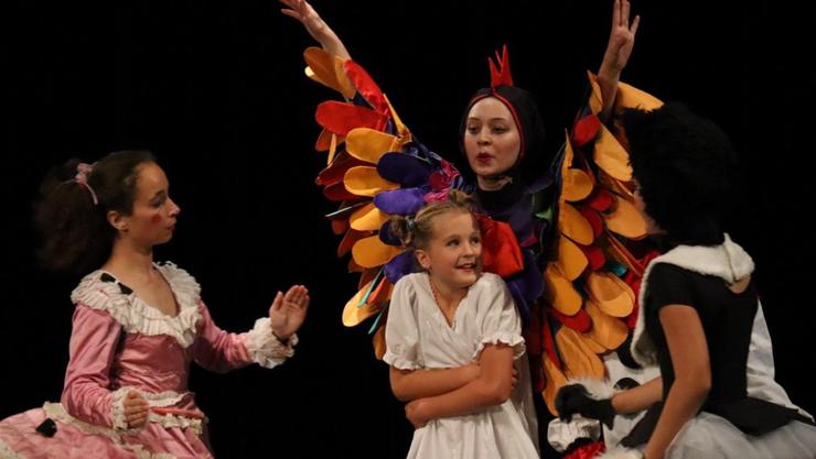 Eines der vom Kulturdünger unterstützten Projekte: Nationales Kinder- und Jugendtanzfestival 2018 im KuK Aarau.