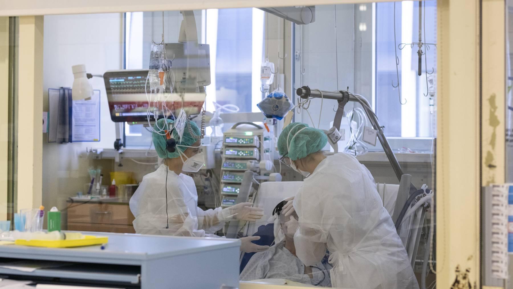 Das Kantonsspital Baden war an der Studie beteiligt (Symbolbild)