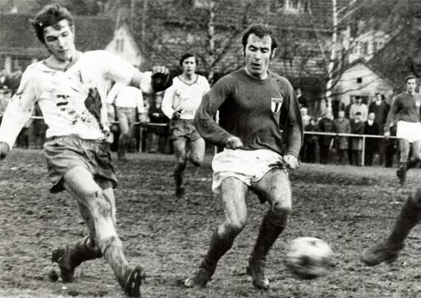 In den 1970er-Jahren lieferten sich Turgi und Baden in der 1. Liga spannende Duelle.