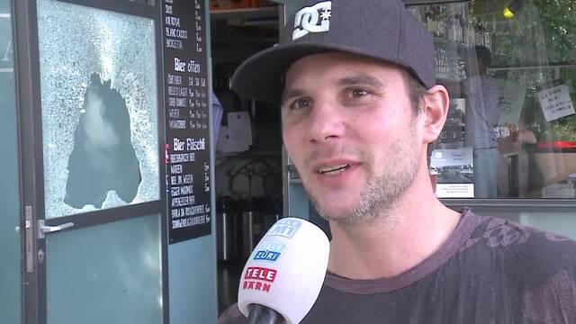 Co-Geschäftsführer André Haueter zum Einbruch in der Hafebar in Solothurn