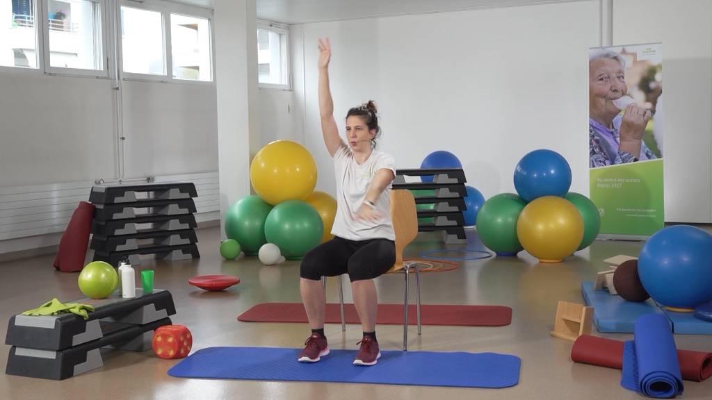 «Gymnastik im Wohnzimmer» vom 27. Juli 2021