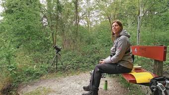 Flavia Geiger vom Lenzburger Natur- und Vogelschutzverein.