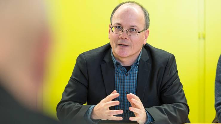 Max Chopard fordert neuen Mit der Antwort des Bundesrates nicht zufrieden.