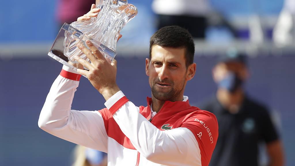 Djokovic gewinnt Heimturnier in Belgrad