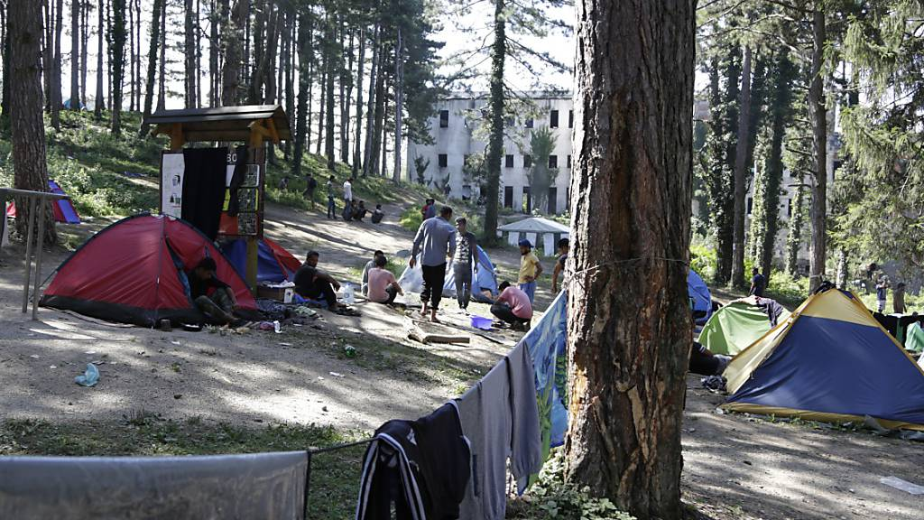 In Bosnien baut sich eine neue Flüchtlingskrise auf