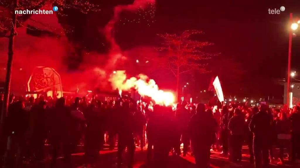 FCL Fans zelebrieren Cupfinal-Einzug