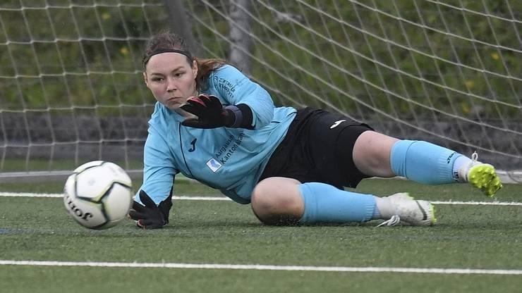 Stammtorhüterin Laura Vogt verliess den FCA Frauen, um in den USA zu spielen und studieren.