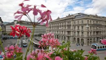 Banken am Zürcher Paradeplatz (Symbolbild)