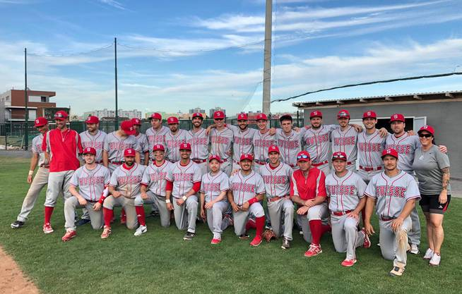 Swiss Baseball Nationalteam 2019