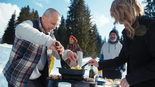 Der Snowboard-Weltmeister hat alles andere als Kochen im Kopf