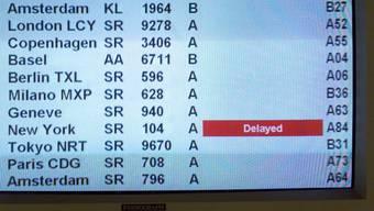Weniger als vier von hundert Flügen im Schweizer Luftraum sind verspätet unterwegs. Das zeigt die Statistik der Flugsicherung Skyguide. (Themenbild)