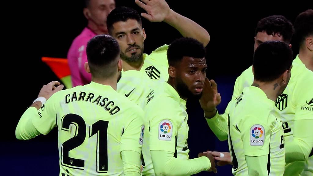 Luis Suarez schiesst Atlético zum Auswärtssieg gegen Eibar