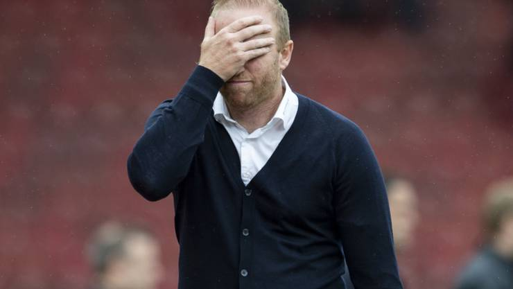 Der FCZ vergibt gegen YB Chance um Chance. Manchmal darf Trainer Ludovic Magnin nicht mehr hinschauen