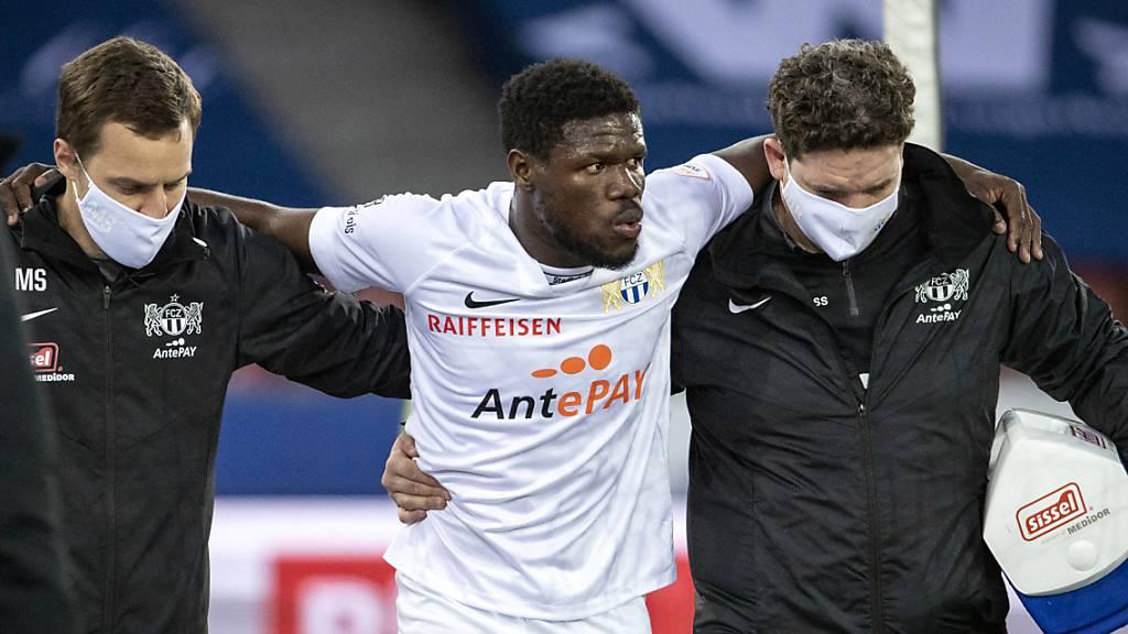 FC Zürich längere Zeit ohne Aiyegun Tosin