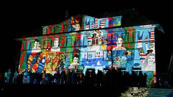 Lichtkunsttour in Selzach