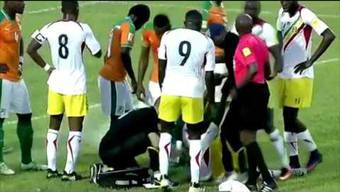 Fussballer rettet Gegenspieler das Leben