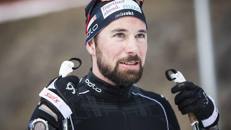 Der Schweizer Biathlet Benjamin Weger
