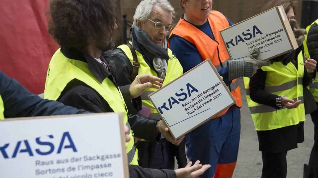 Am 27. Oktober wurde die Rasa-Initiative in Bern eingereicht.