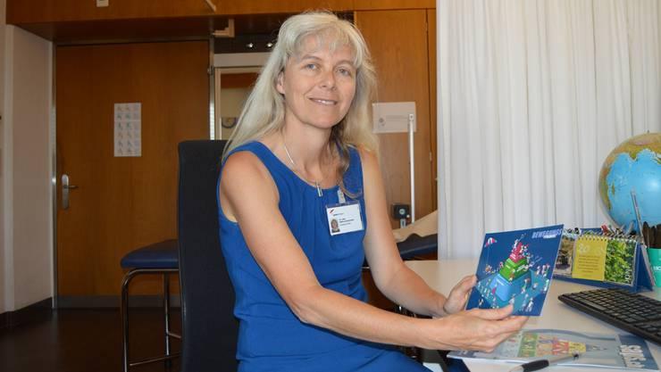 Chefärztin Bettina Isenschmid ernährt sich selber vegetarisch.
