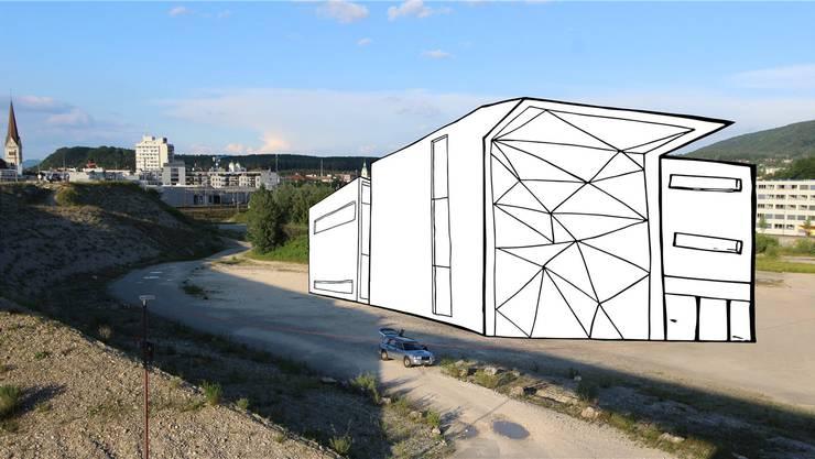 So könnte eine Trendsporthalle in Olten SüdWest aussehen – unabhängig vom genauen Standort.