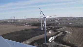 Der Windpark Ashtabula II in North Dakota: Hier investiert der Suchmaschinen-Gigant.
